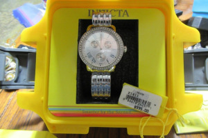 INVICTA - ANGEL - TRITNITE - FLAME FUSION CRYSTAL-
