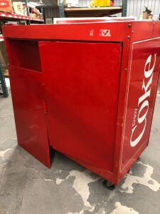 COCA-COLA DRINK CART