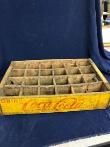 WOODEN COCA-COLA CRATE