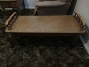 WOODEN COFFEE TABLE - BR1
