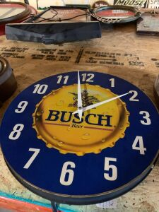 BUSCH BEER CLOCK