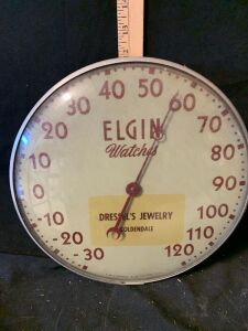 ELGIN WATCHES CLOCK