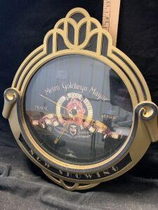 METRO GOLDWYN MAYER CLOCK