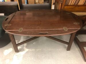 DROP SIDE WOOD TABLE
