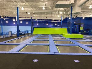 Large Trampoline Court