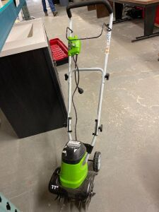 GREENWORKS ELECTRIC 11 INCH CULTIVATOR
