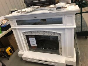 Electric Fireplace & TV Stand