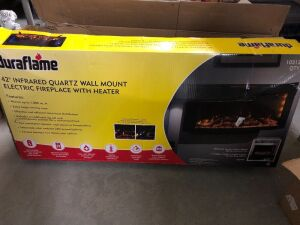 DURAFLAME ELECTRIC FIREPLACE WITH HEATER