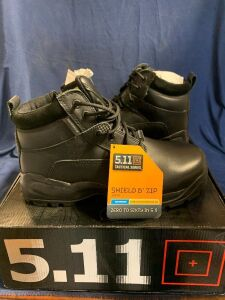"SHIELD 6"" ZIP BOOT SIZE 10.5W"