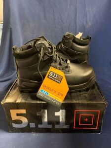 "SHIELD 6"" ZIP BOOT SIZE 8.5 R"