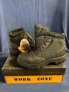 "WORK ZONE 9.5"" SWAT BOOT"
