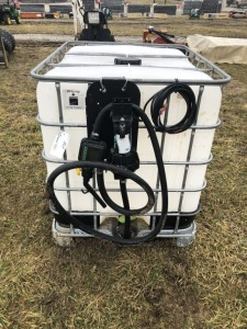 250 GALLON CHEMICAL TANK WITH PUMP - L3