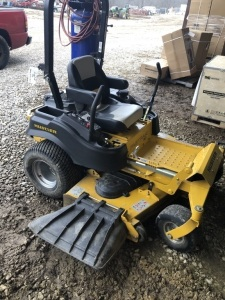 HUSKY ZERO TURN MOWER - L15 SHED