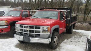 2000 CHEVROLET C3500 DUALLY - TITLE  - L16