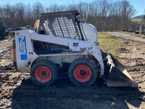 BOBCAT 763 SKID-STEER