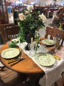 NIKKO IRONSTONE PLATES AND TABLE TOP DECOR