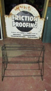 METAL FRICTION PROOFING RACK