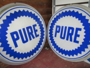 DOUBLE SIDED PURE SIGN