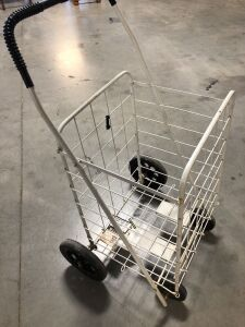 FOLD UP METAL CART ON WHEELS