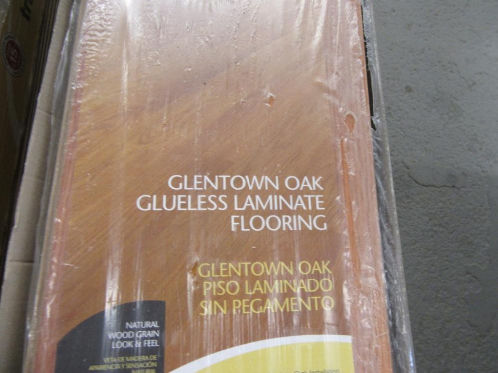 Catalog Auction Info Glassware, Glentown Oak Laminate Flooring