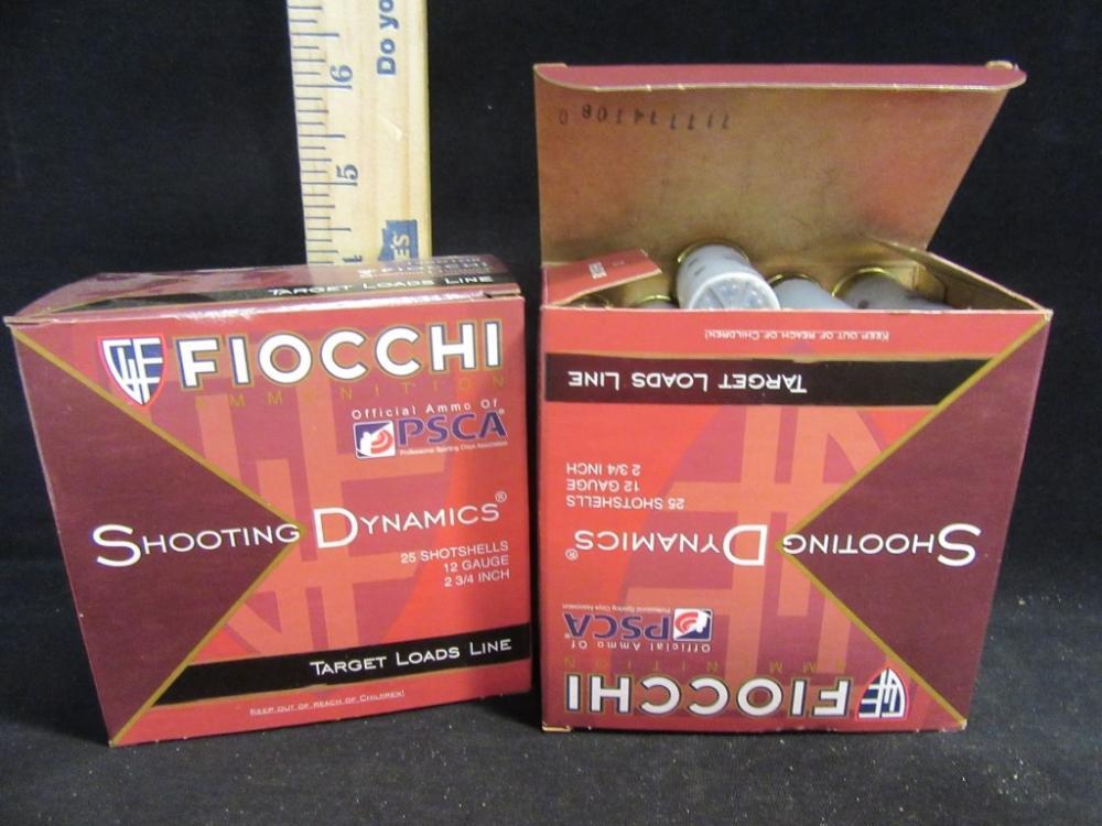 Fiocchi Target Loads Line 12 Gauge Shotshells