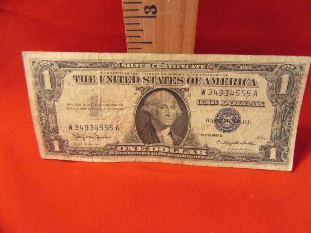 Silver Certificate One Dollar 1957