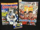 NASCAR MAGAZINES AND DIE CAST CAR
